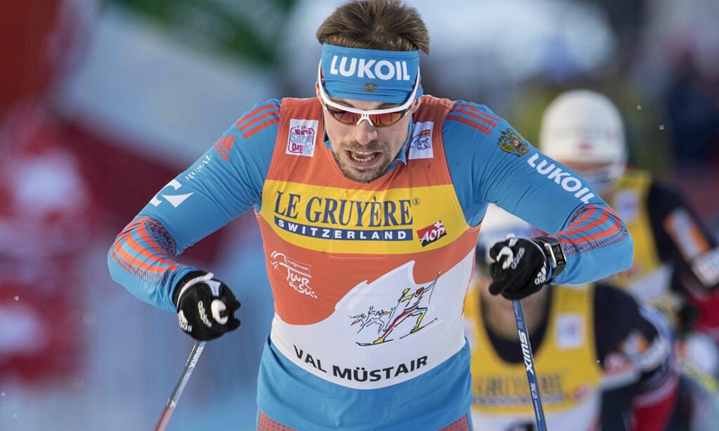 BEST IGJEN: Sergej Ustjugov vant gårsdagens skøytesprint og fulgte opp med en ny seier i klassisk i dag. Foto: NTB Scanpix