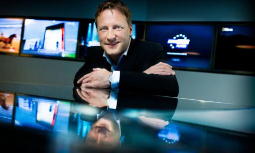 LØSNING UNDERVEGS: Kommunikasjonsdirektør Kenneth Tjønndal Pettersen. (Foto: Canal Digital)