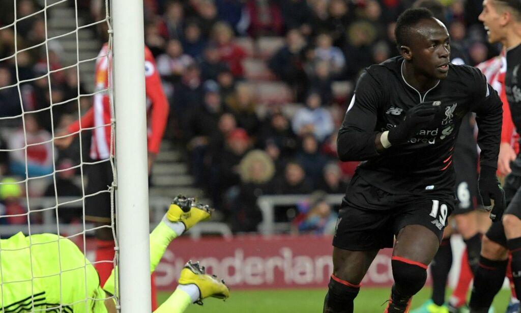 image: Her tror Mané han redder Liverpool. Så klønet han det til