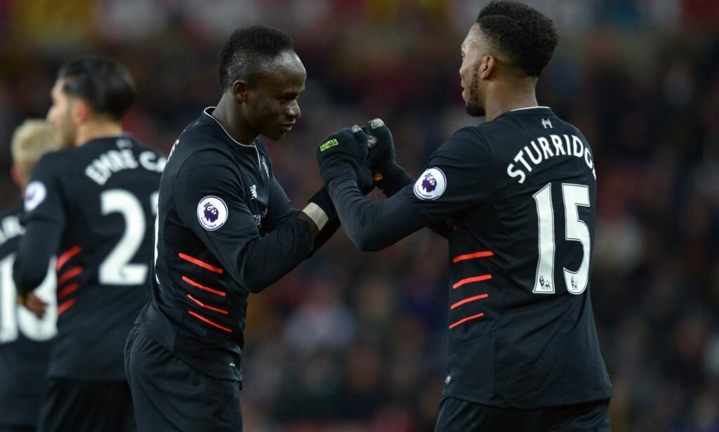 DRAR: Sadio Mane forlater Liverpool for en stund for å spille i Afrikamesterskapet de neste ukene. Foto: NTB Scanpix