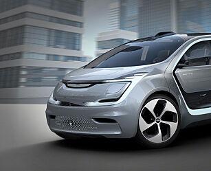 image: Selvkjørende elbil med tre seterader