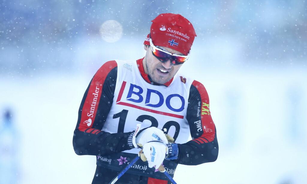 SEIER: Til Andreas Nygaard. Foto: Terje Pedersen / NTB scanpix