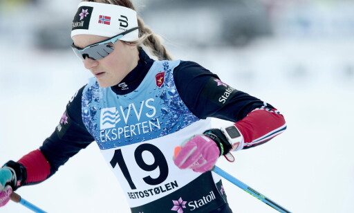 SATSER MOT OL: Martine Ek Hagen har funnet tilbake motivasjonen og satser mot OL i Pyeongchang. Foto: Bjørn Langsem / Dagbladet