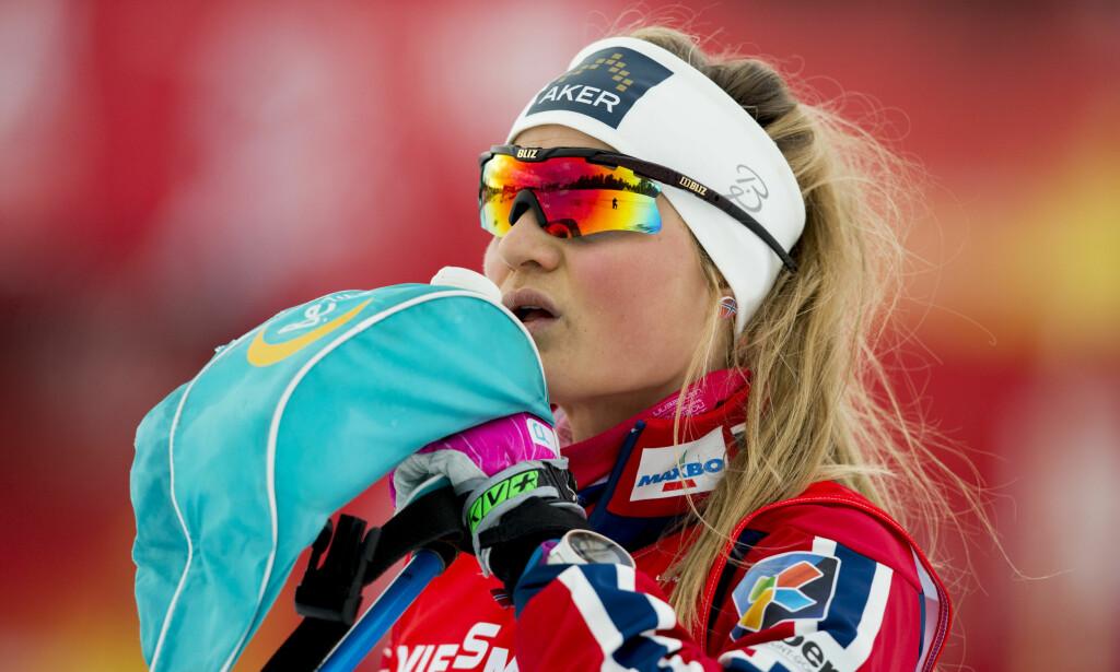 UHELDIG: Det er ingenting i veien med talentet til Martine Ek Hagen (25), men det siste året har omtrent alt gått imot henne. Foto: Vegard Wivestad Grøtt / NTB scanpix
