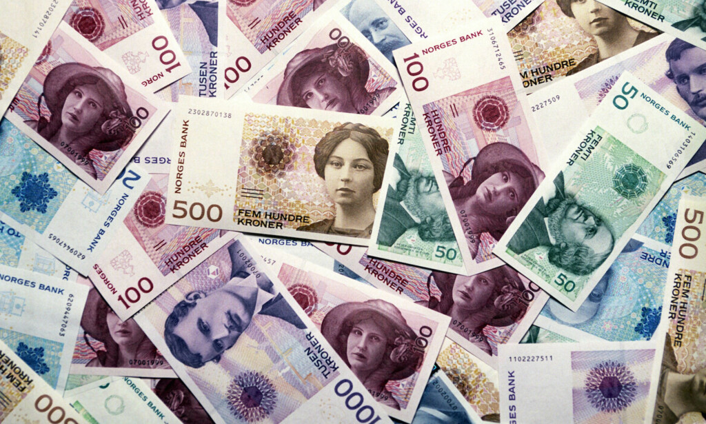 DE PENGA: - Penger er ordnet i et hierarki, en pyramide. Sedler og mynt og reserver utstedt av sentralbanken troner på toppen, fulgt av kontopenger, som er et krav på kontanter. Lenger nede i hierarkiet har vi «pengeaktige» verdipapirer, som i prinsippet kan veksles inn i høyere former for penger, skriver artikkelforfatteren. Foto: NTB Scanpix