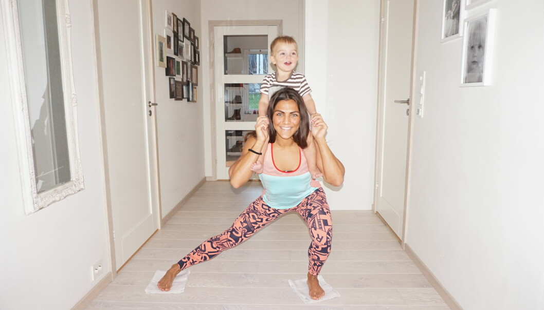 Gravidtrening: Så hardt kan du presse kroppen