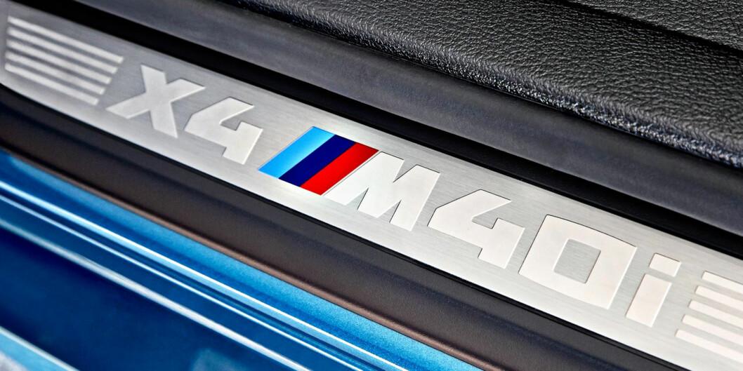 <strong><b>M2 I HØYDEHUS:</strong></b> BMW har puttet motoren fra M2 i X4 og strammet opp alt et par knepp. Vi var i USA og kjørte den på svingete morsomme veier. Foto: BMW