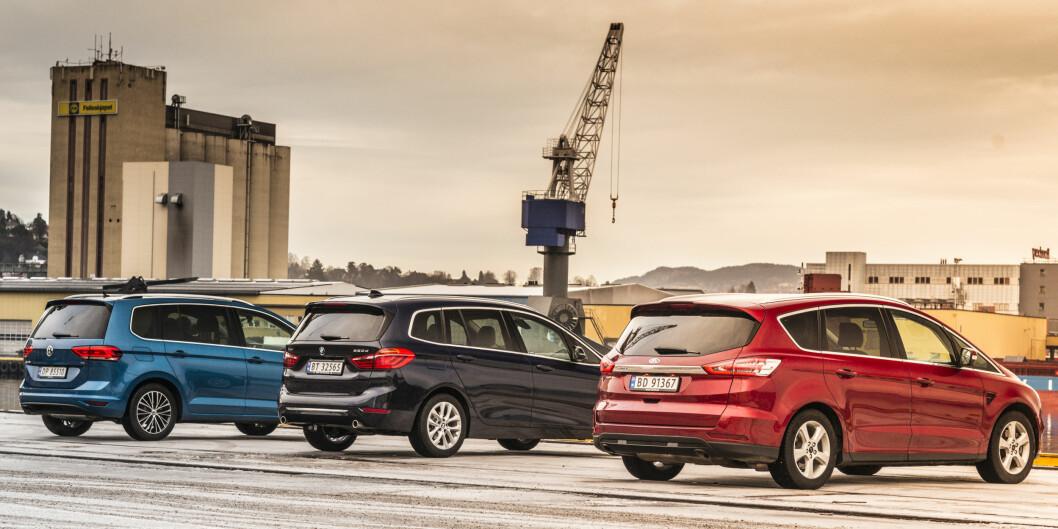 <strong><b>3x7:</strong></b> Svaret er ikke nødvendigvis 21. Vi leter etter en sekser på terningen når VW og Ford har fintunet konseptet i ny versjon og BMW entrer markedet med luksus.  Foto: JAMEISON POTHECARY