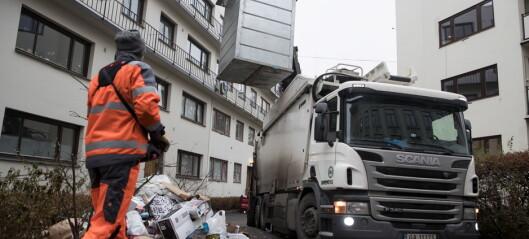 Privatisert søppeltømming er en suksess