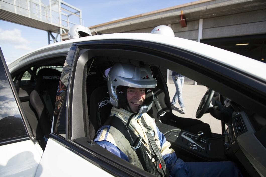 <strong><b>FÅRETE:</strong></b> En real tur med folk som KAN kjøre, gjør sånne ting med gliset ditt. Foto: ERIK FIVE