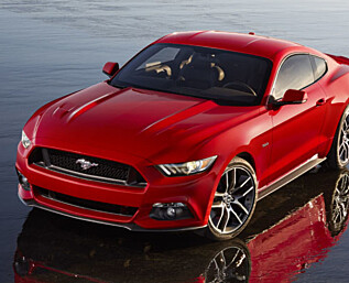 Her er nye Mustang