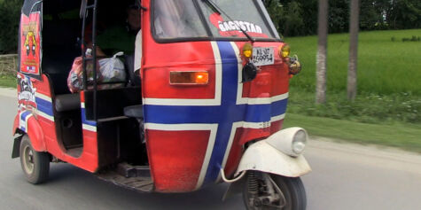 image: 3000 kilometer i rickshaw