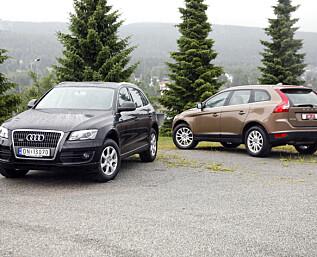Bruktduell: SUV-favorittene Volvo XC60 og Audi Q5