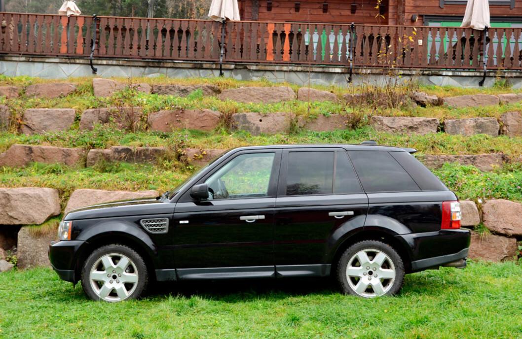 Range Rover Sport Supercharged kan sies å være SUVenes svar på Jaguar XJR. Foto: Stein Inge Stølen