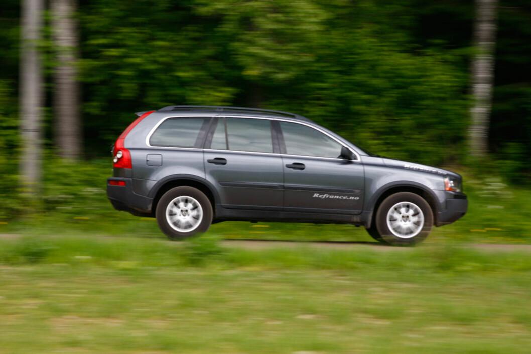 Volvo XC90 har slitt med mye feil, men finner du et godt eksemplar kan du boltre deg med klassens beste komfort for hele familie. Foto: Autofil