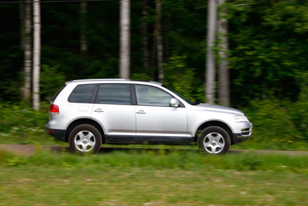 Volkswagen Touareg er ikke et opplagt valg, men likevel kan det vise seg at du får mest for pengene her.  Foto: Autofil