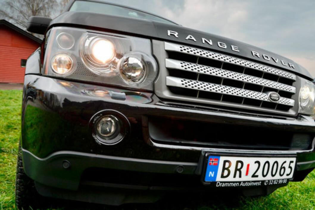 Range Rover Sport er en av de mest attråverdige SUVene på markedet. Foto: Stein Inge Stølen