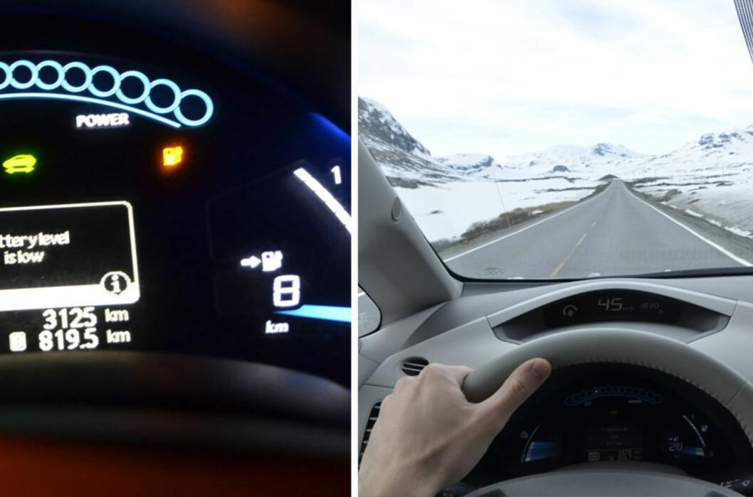 1200 km i Nissan Leaf