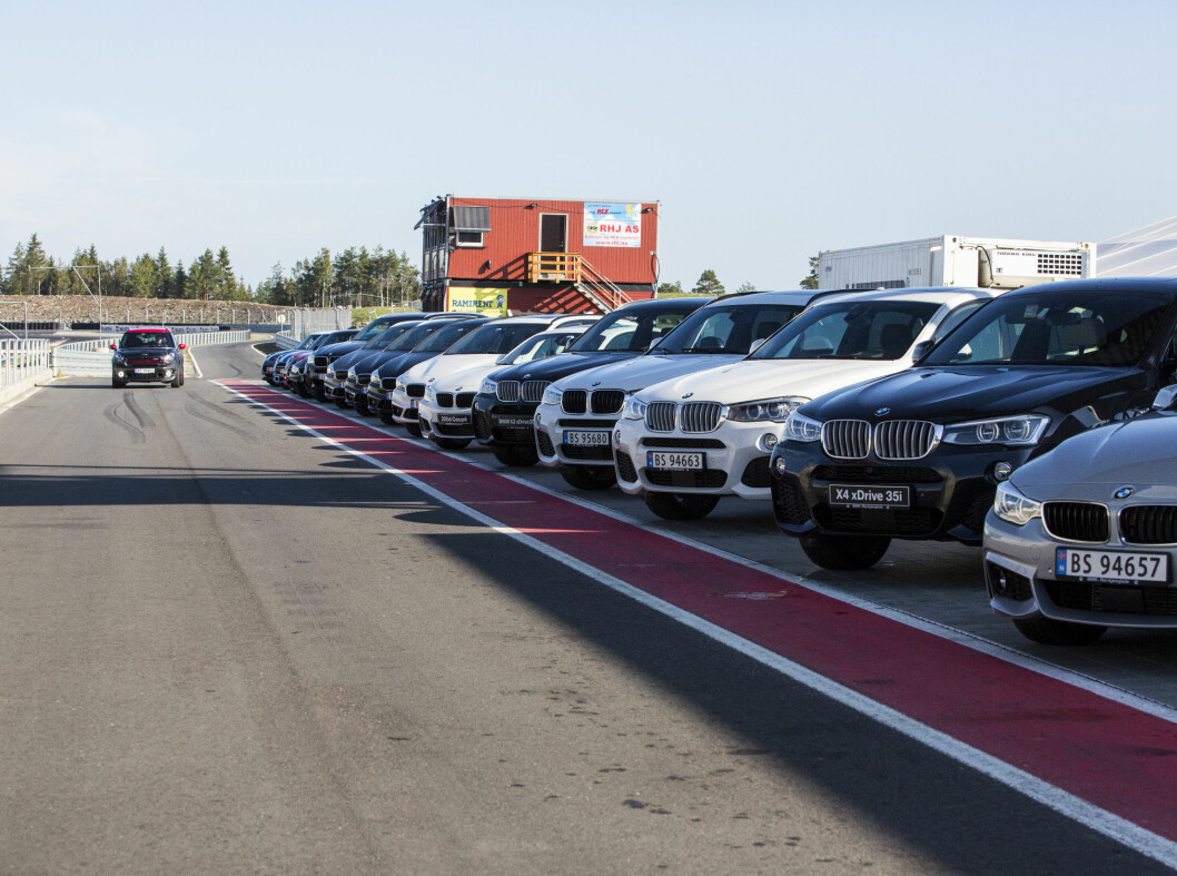 <strong><b>ELLE MELLE:</strong></b> BMW stilte med det beste de hadde å by på. Foto: ERIK FIVE