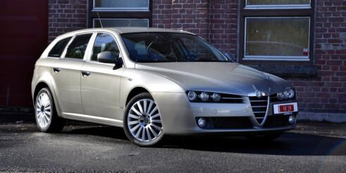 Bruktbil: Alfa Romeo 159 Sportwagon (2007)