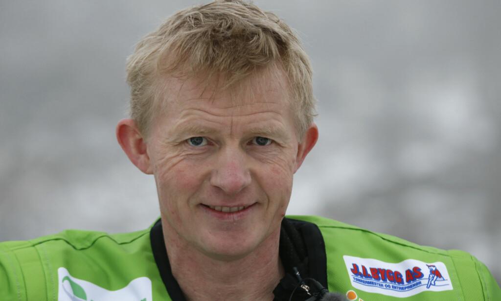BRØT: Pål Anders Ullevålseter er ute av tetkampen etter at han måtte bryte dagens fjerde etappe av Africa Race. Foto: Terje Bendiksby / NTB scanpix