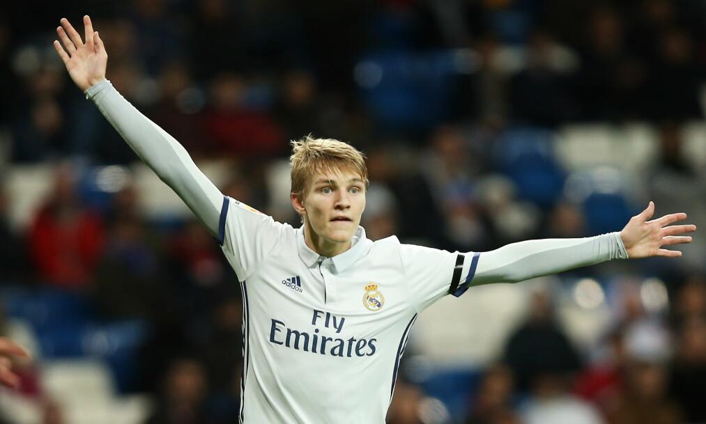 SNART KLAR?: Martin Ødegaard blir tlånt ut fra Real Madrid til Heerenveen. Foto: Erik Johansen / NTB scanpix
