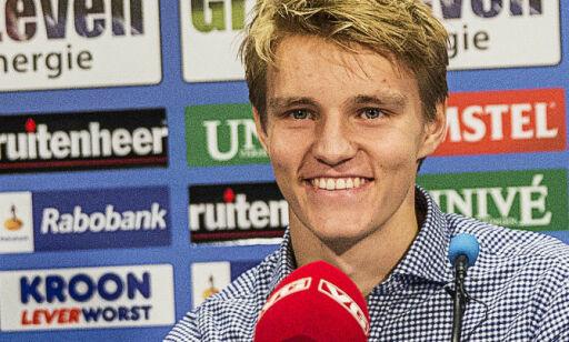 image: Da Ødegaard ble konfrontert med stempelet, bare lo han: - Det er opp til andre