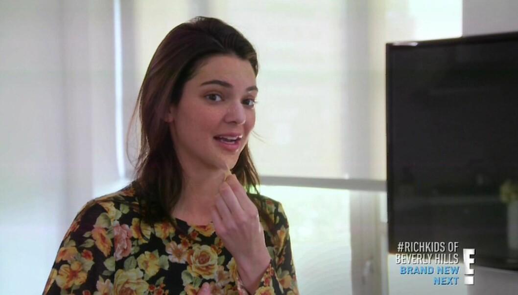 Fra TV-serien «Keeping up with the Kardashians» hvor vi pleier å se henne. Foto: Xposure