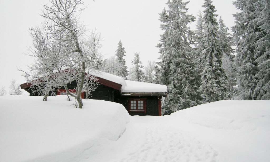 UTEN DEKNING: Norge er et langstrakt land, og det er ikke gitt at du verken har mobildekning eller DAB-dekning på hytta. (Foto: Solveig Vikene/NTB Scanpix)