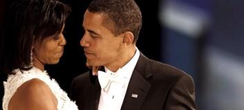 Obama hyllet førstedamen i talen sin. Nå tar svaret hennes av på nett