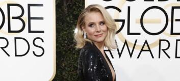 Røper hva hun var iført under Golden Globe-kjolen sin