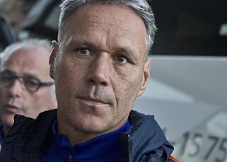 POPULÆR: Marco van Basten skapte oppstyr da han ble presentert som Heerenveen-trener i 2012. Det samme gjorde Martin Ødegaard i dag. Foto: Calle Andersson / IBL