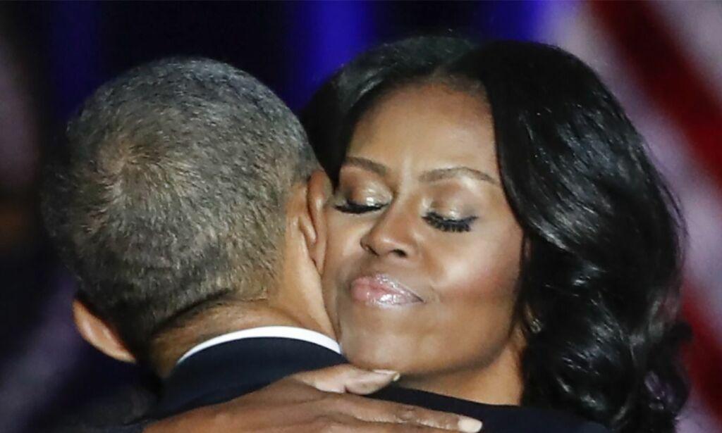 image: Obama hyllet førstedamen i talen sin. Nå tar svaret hennes av på nett