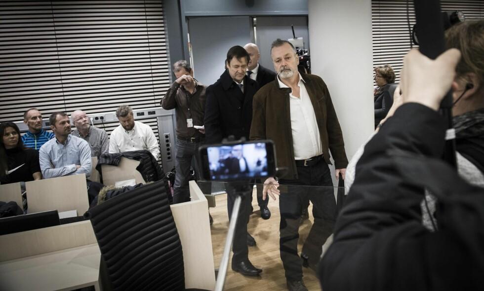 FORKLARER SEG: Eirik Jensen startet sin forklaring tirsdag og fortsatte onsdag. Foto: Lars Eivind Bones