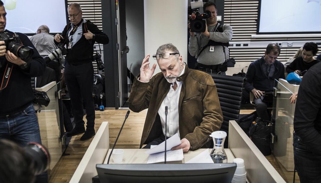 <strong>FÅR DOMMEN:</strong> Det er gått snart fire måneder siden hovedforhandlingene i rettssaken mot Eirik Jensen og Gjermund Cappelen ble ferdig. I dag får de to dommen i Oslo tingrett. Foto: Lars Eivind Bones / Dagbladet