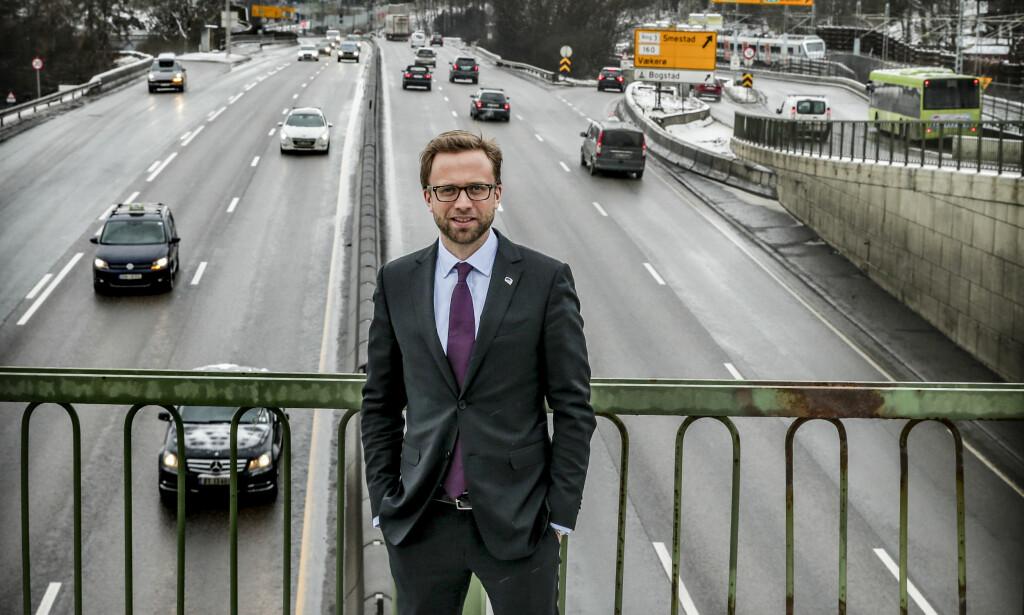337 GRUNNER TIL Å SMILE: Høyre-topp Nikolai Astrup er Stortingets rikeste. FOTO STEIN J BJØRGE