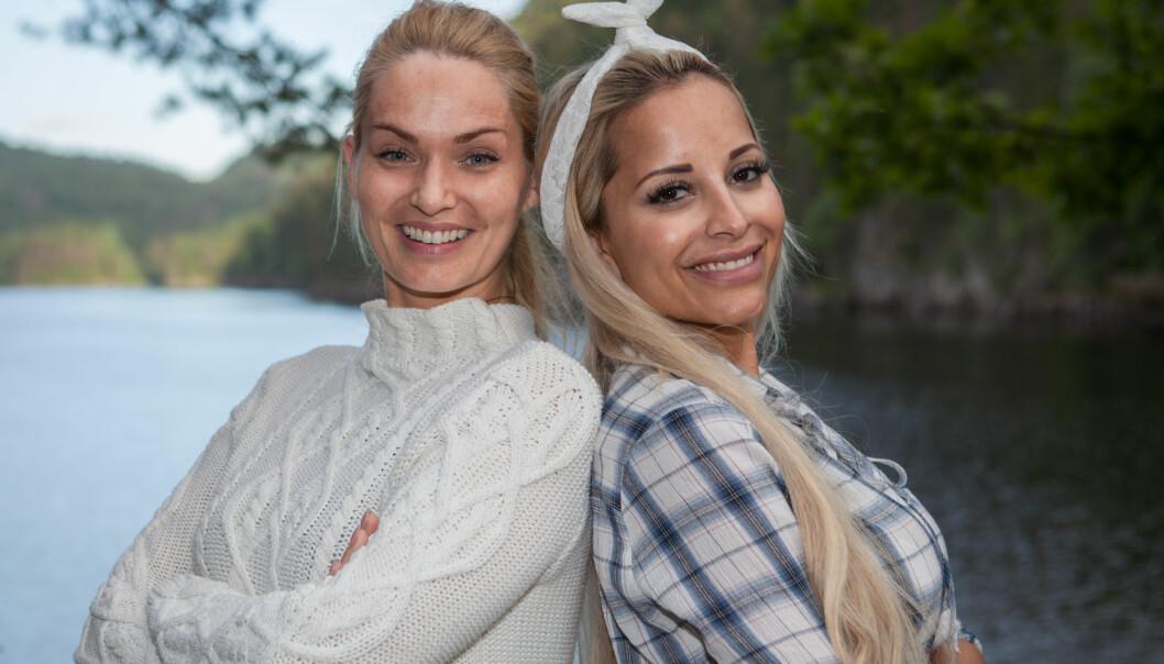 <strong>FLYTTER INN:</strong> Marna Haugen Burøe (35) og Linni Meister (31) kommer inn som utfordrere i kjendisutgaven av «Farmen». Foto: Alex Iversen / TV 2
