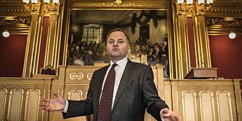 image: Kontrollkomiteen retter kraftig skyts mot Thommessen: - Det er det mest alvorlige jeg har hørt om siden krigen