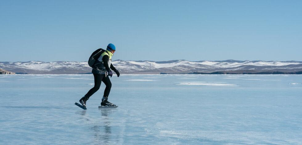 image: Sjekk isen før du legger utpå