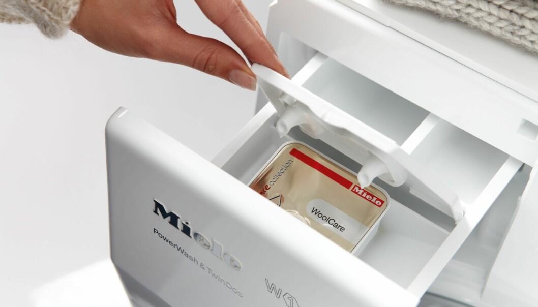 <strong>VINNERMERKET:</strong> Tyske Miele gjør rent bord både når det gjelder vaskemaskiner, tørketromler og oppvaskmaskiner. Foto: Miele/Expert
