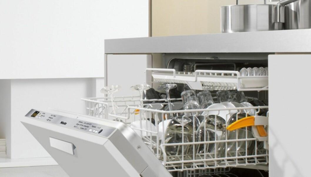 <strong>GÅR OG GÅR:</strong> Mieles oppvaskamaskiner kommer godt ut i langtidstestene. Foto: Miele