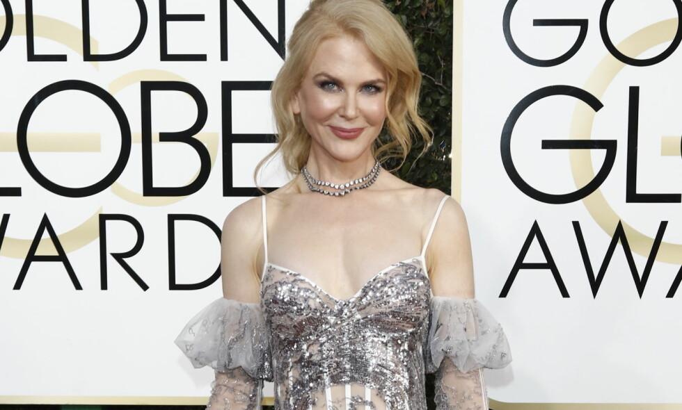 BER FOLK STØTTE TRUMP: Nicole Kidman mener amerikanske velgere bør legge stridighetene fra valgkampen bak seg og samle seg om sin nye president. Foto: Scanpix