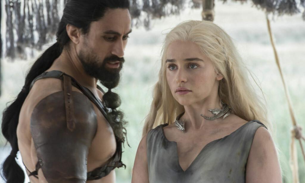 FANTASY-SERIE: Suksess-serien «Game of Thrones» er bygget på bokserien «En sang om is og ild». Nå sier forfatteren at han tror den neste boken i serien, «Winds of Winter» kommer ut i år. Foto: HBO
