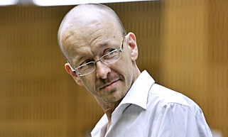 RASISTDRAPSMANN: Den svenske rasistiske massedrapsmannen Peter Mangs blir omtalt som «broder» i et brev Breivik prøvde å sende ham. Foto: Lars Pehrson / SvD / NTB Scanpix