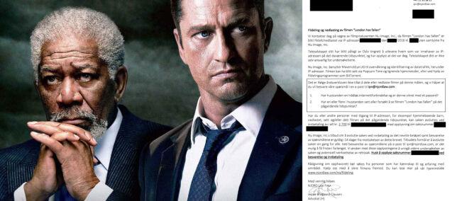 image: Med dette brevet jakter Hollywood norske nedlastere. Myndighetene lar advokater få IP-adresser