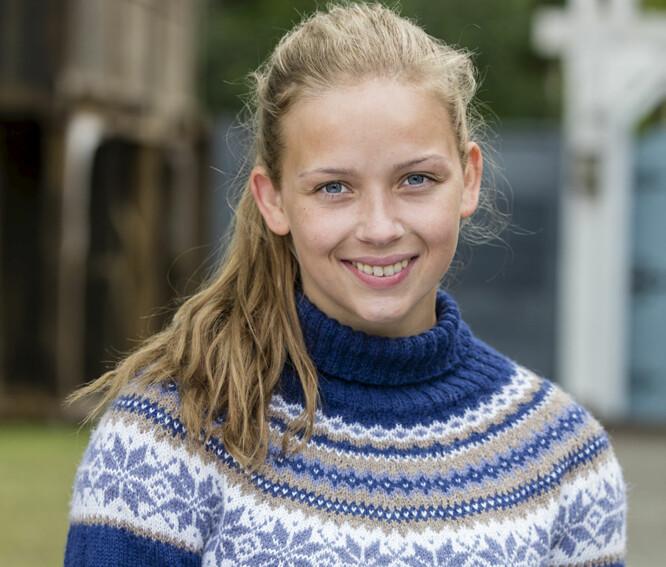 KREVENDE OVERGANG: Charlotte Fossum satt med mange tanker om sin egen «Anno»-exit etter at oppholdet hennes var over. Foto: NRK