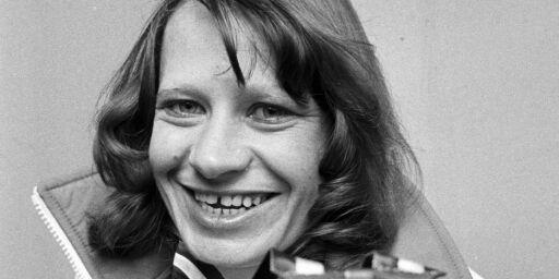image: Skøyteløperen Lisbeth Korsmo er død