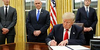 image: Trump godkjenner omstridte oljeprosjekter