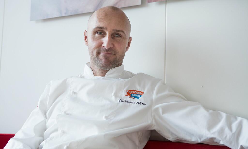 STORE KONTRASTER: Ole Martin Alfsen har gjort seg bemerket som en av Norges mest kjente kokker. I et større intervju med Dagbladet åpner han opp om opp- og nedturene i 2018. Foto: Thomas Winje Øijord / NTB Scanpix
