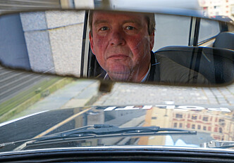 <strong>POLITIPENSJONIST:</strong> Richard Kristensen. Foto: Paal Kvamme